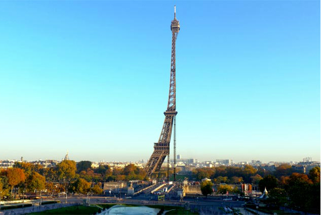 Un retrato peculiar de la Torre Eiffel