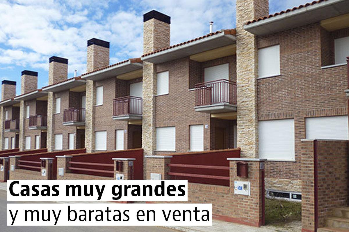 Casas muy grandes, nuevas y baratas en venta en España