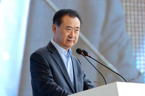 El empresario chino Wang Jianlin