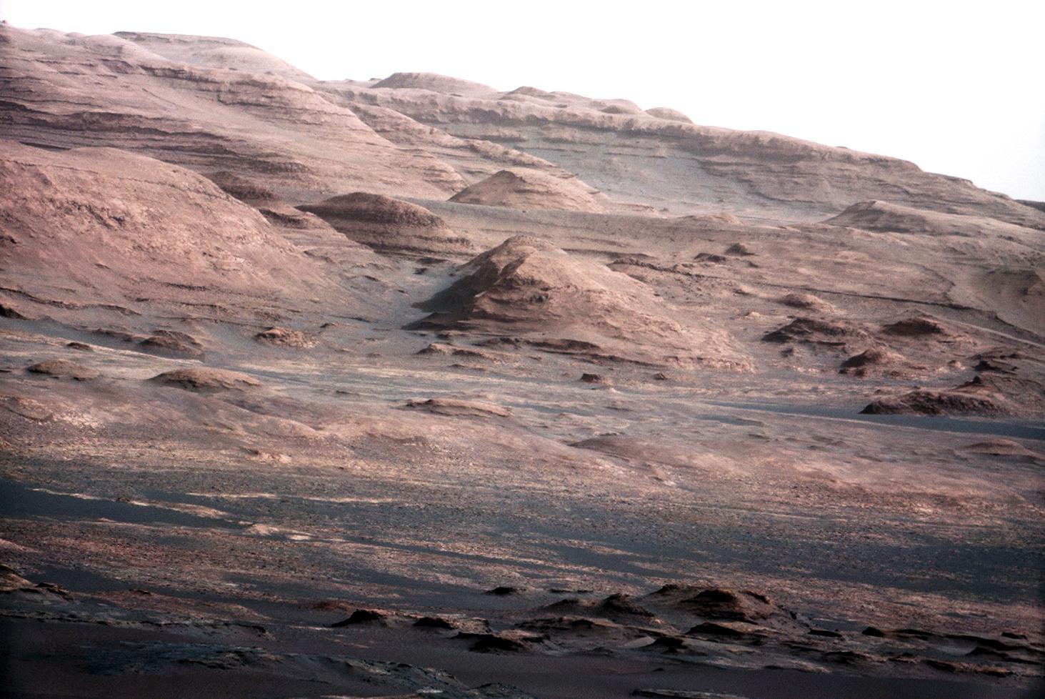 Una imagen del planeta rojo