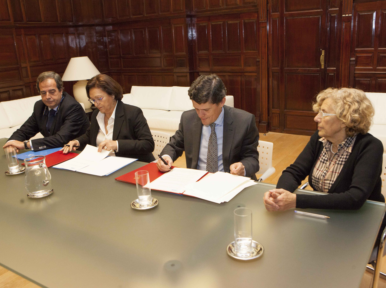 Sareb cede 300 viviendas para alquiler social al Ayuntamiento de Madrid