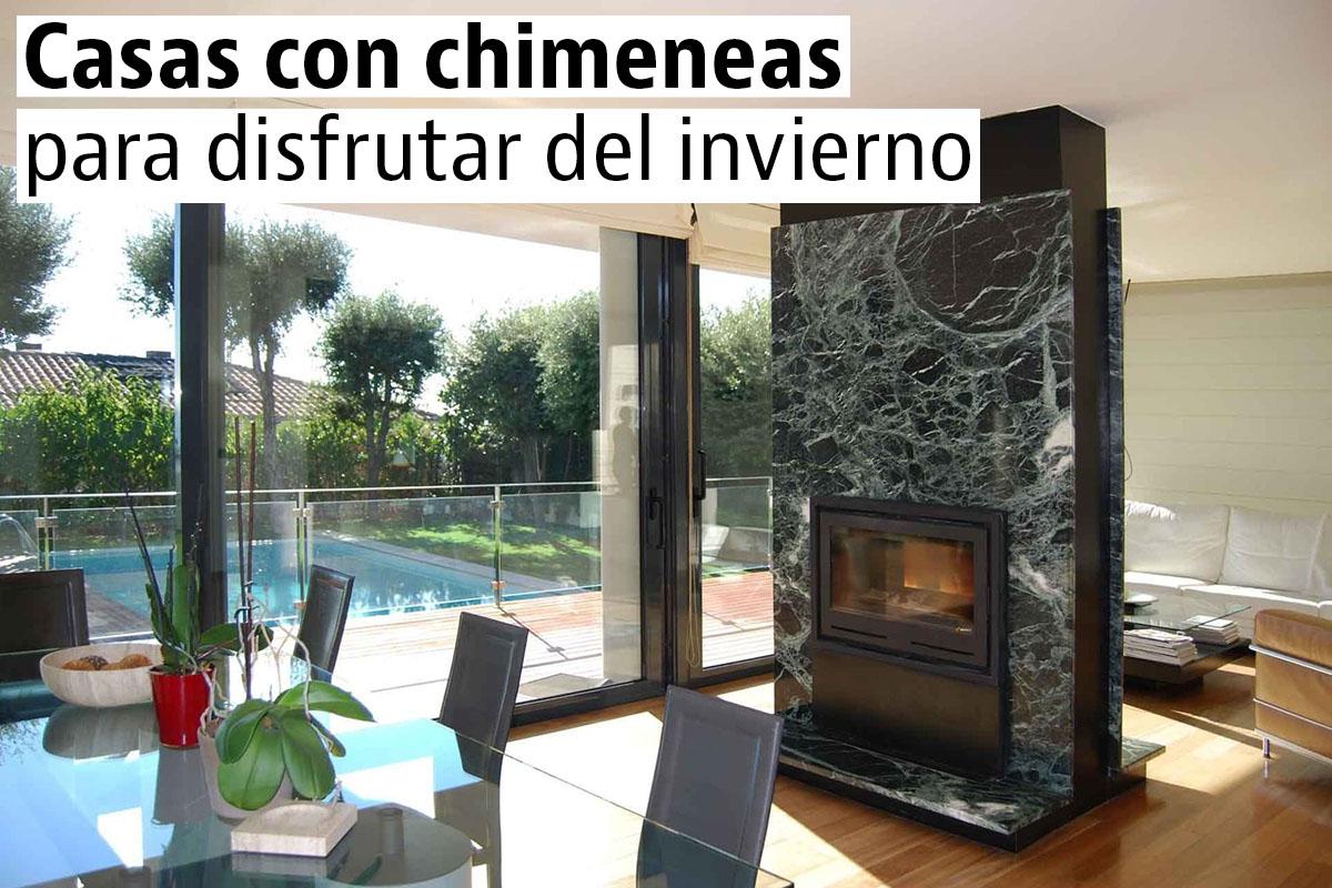 Casas con encanto idealista news - Casas con chimeneas modernas ...