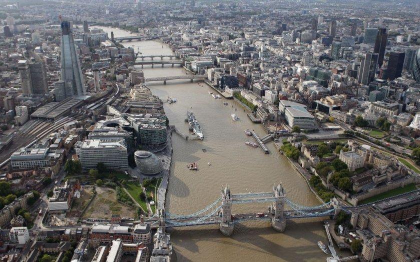 Londres desde el alto