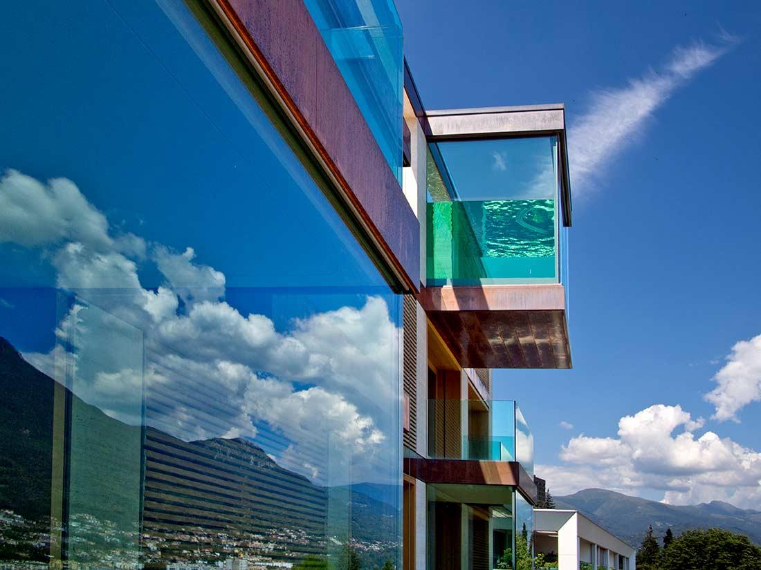 Arquitectura exhibicionista 10 edificios con fachadas de - Fachadas de cristal ...