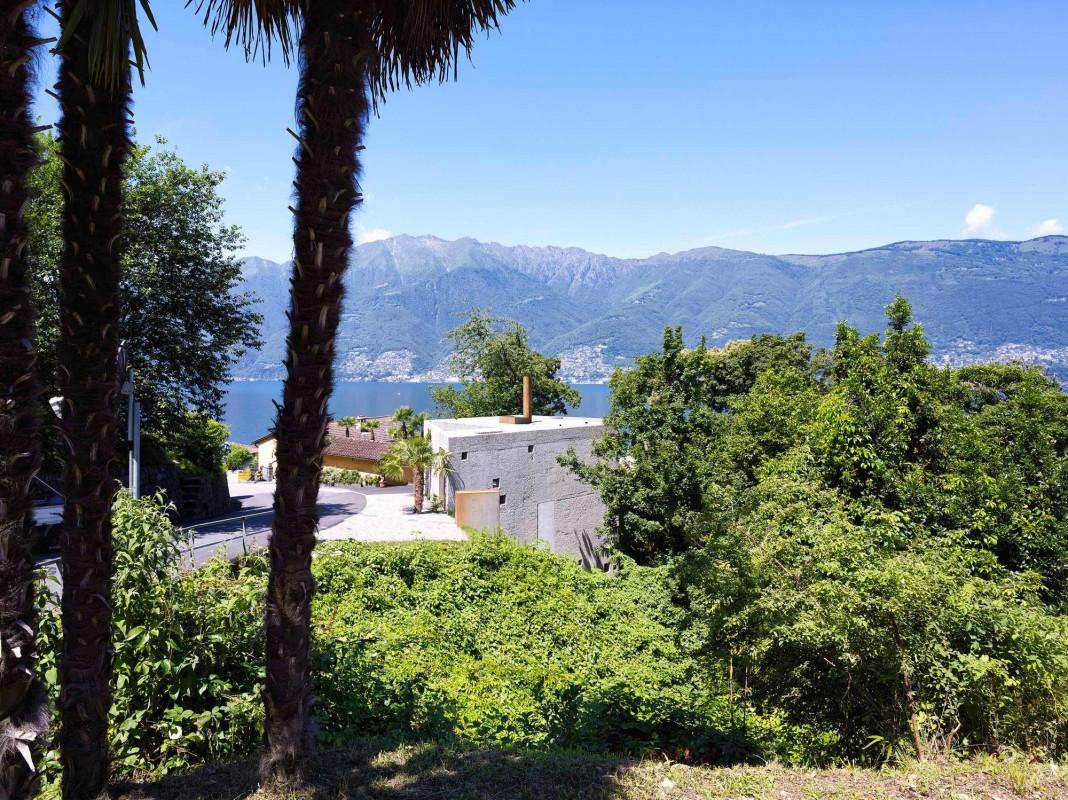 La casa de lujo con vistas al Lago Mayor