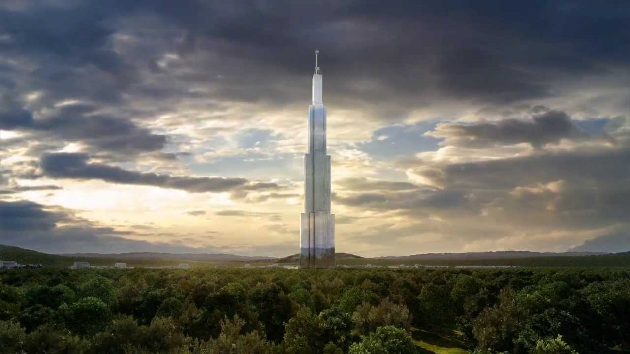 Un rascacielos espectacular