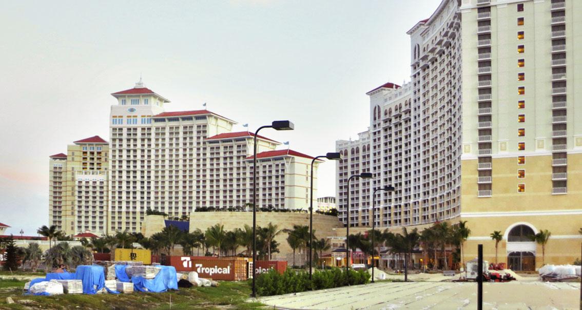 Resort en las Bahamas