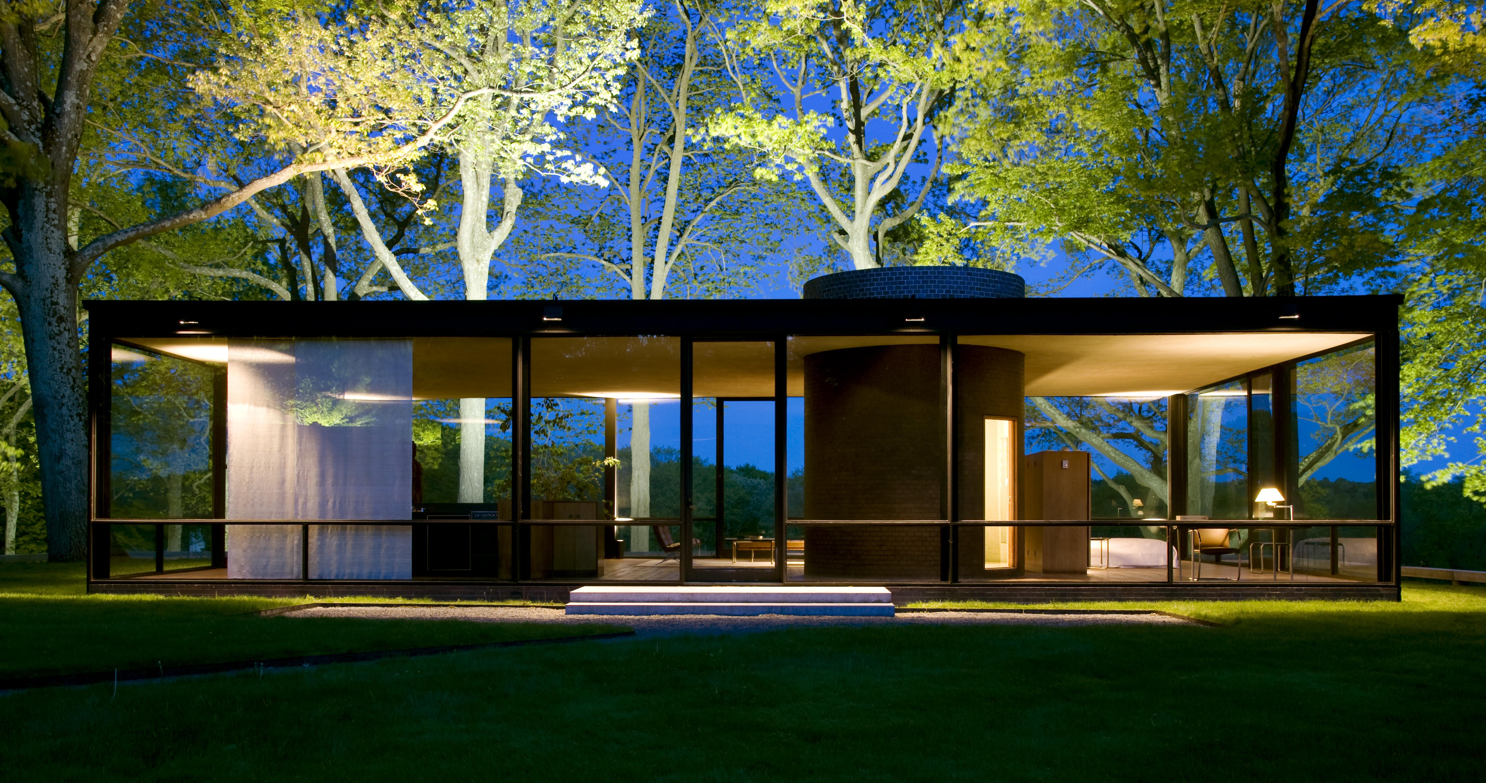 Casa diseñada por Philip Johnson