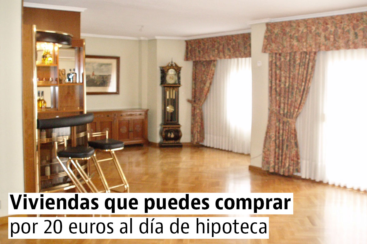 Casas en venta con hipotecas de 550 euros al mes o menos