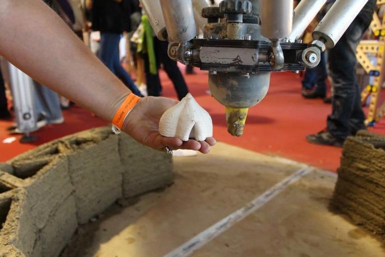 Cómo funciona la impresora 3D para casas
