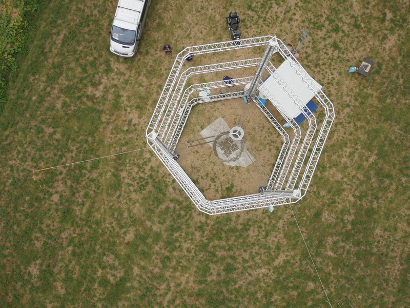 Estructura de casa realizada por impresora 3D