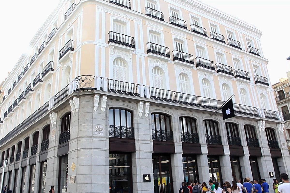 El Apple Store de la Puerta del Sol de Madrid