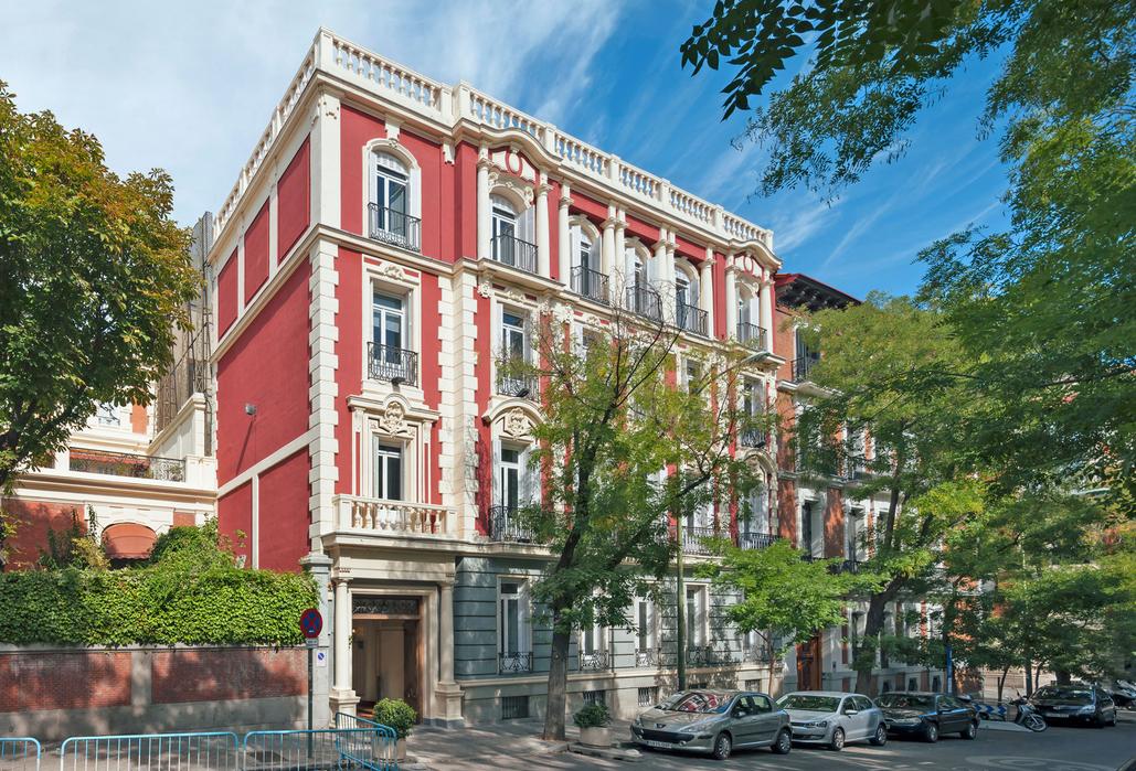 Edificio de oficinas de Axiare en el centro financiero de Madrid