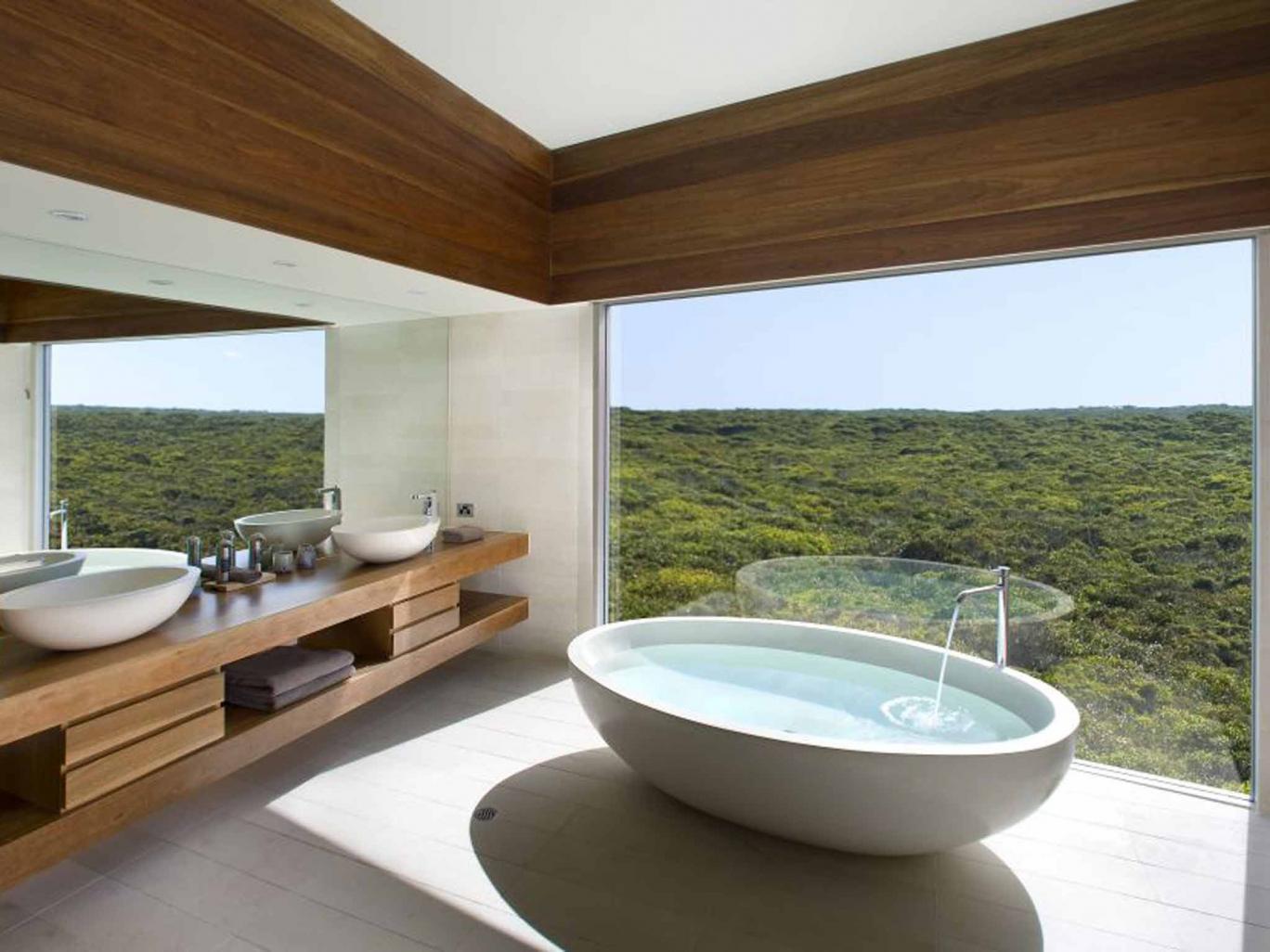 Una bañera espectacular