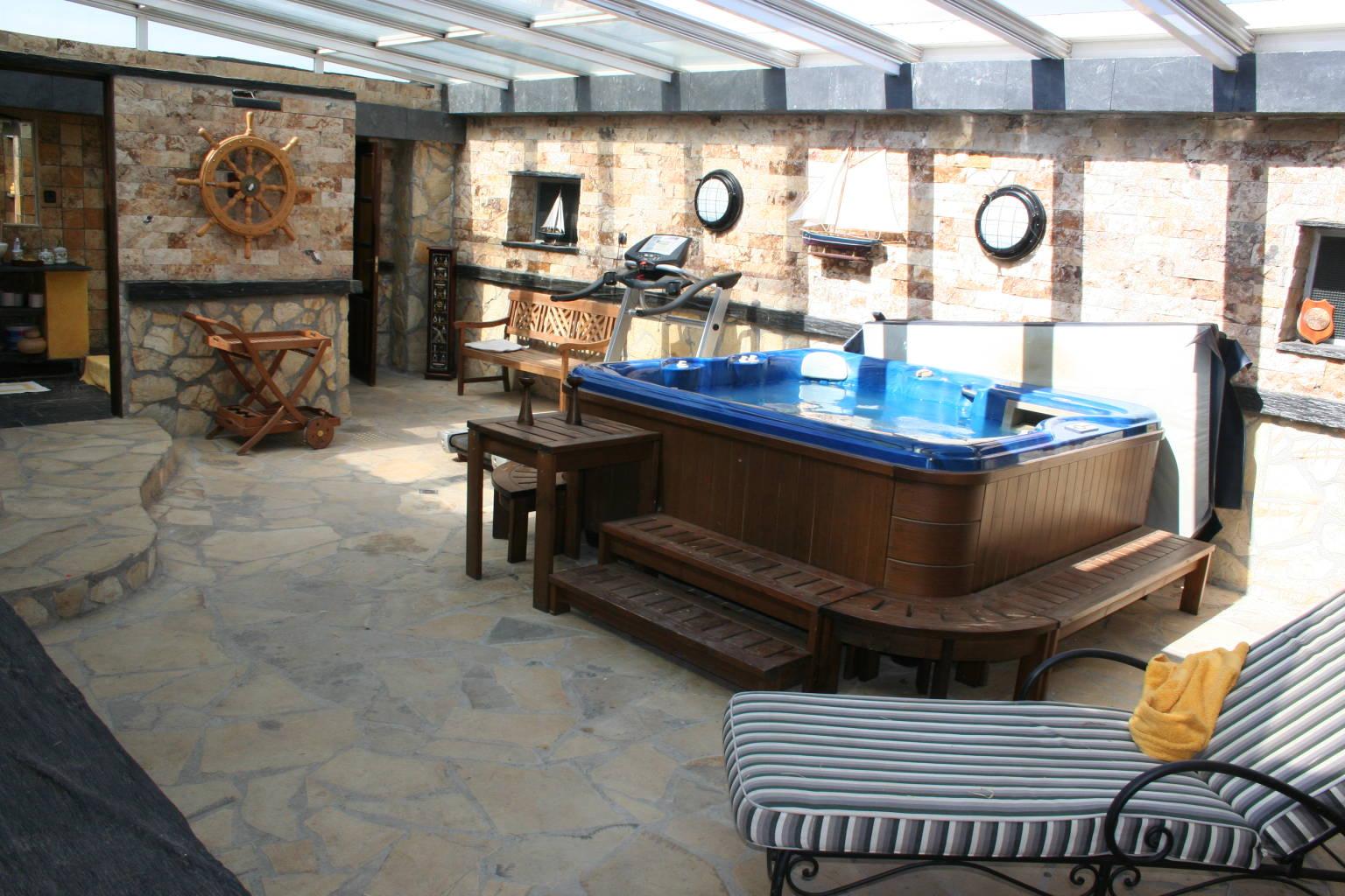 Casa con jacuzzi en Guadalajara
