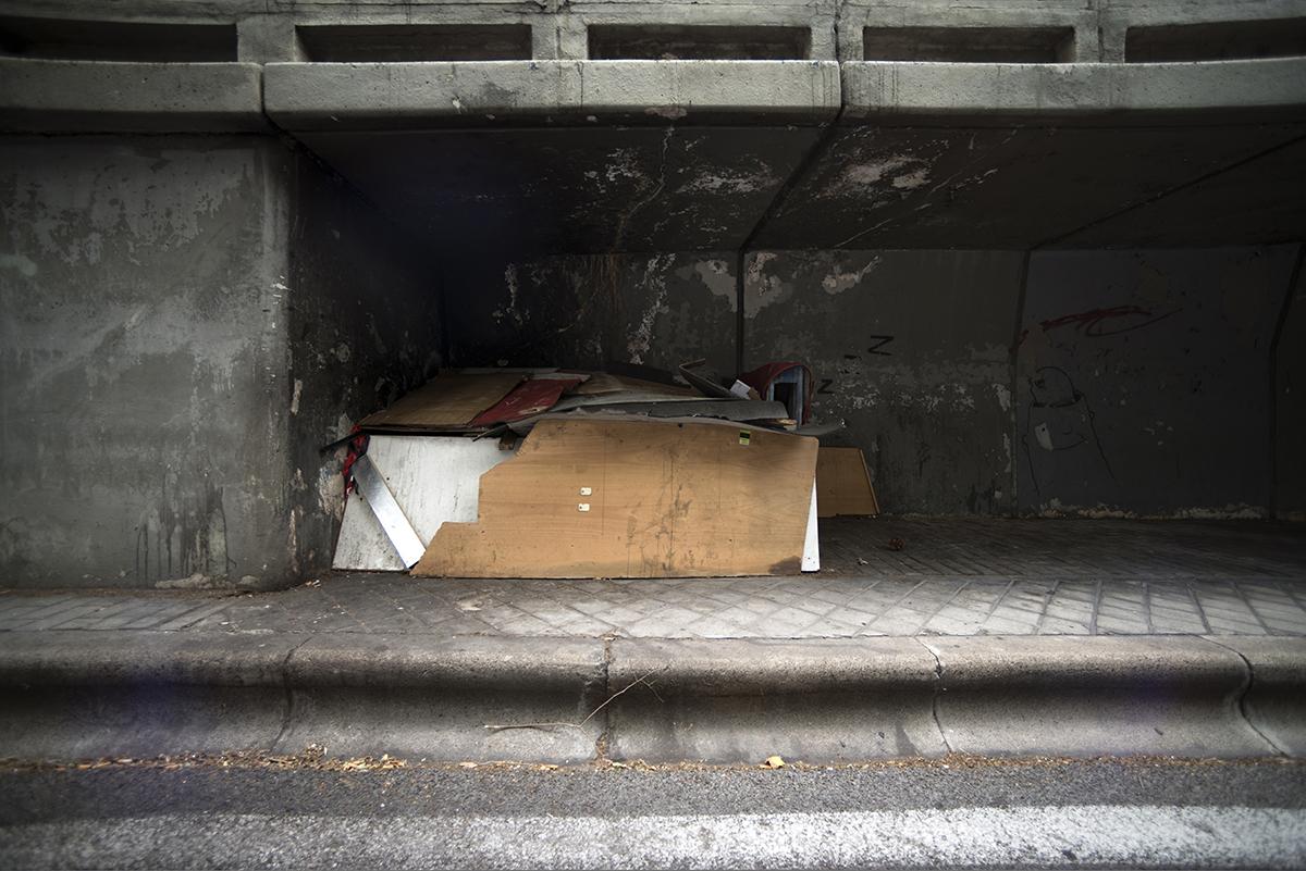 Hogar de los sin techo de Madrid