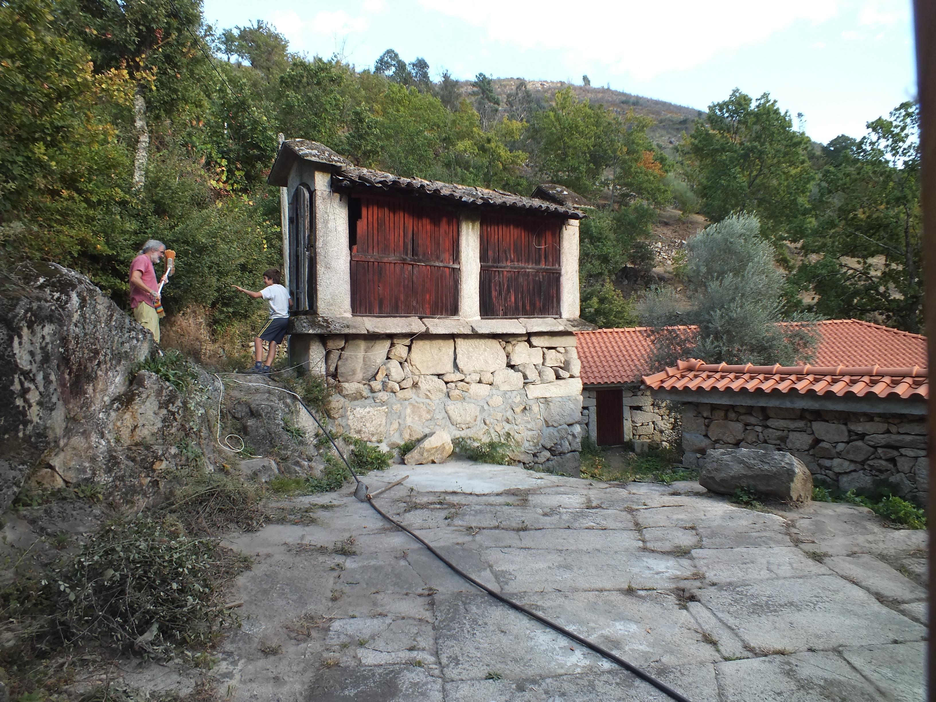 La ecoaldea situada en el norte de Portugal