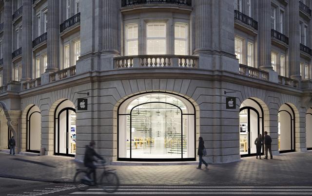 10 edificios históricos que Apple ha transformado en 'templos' de la tecnología