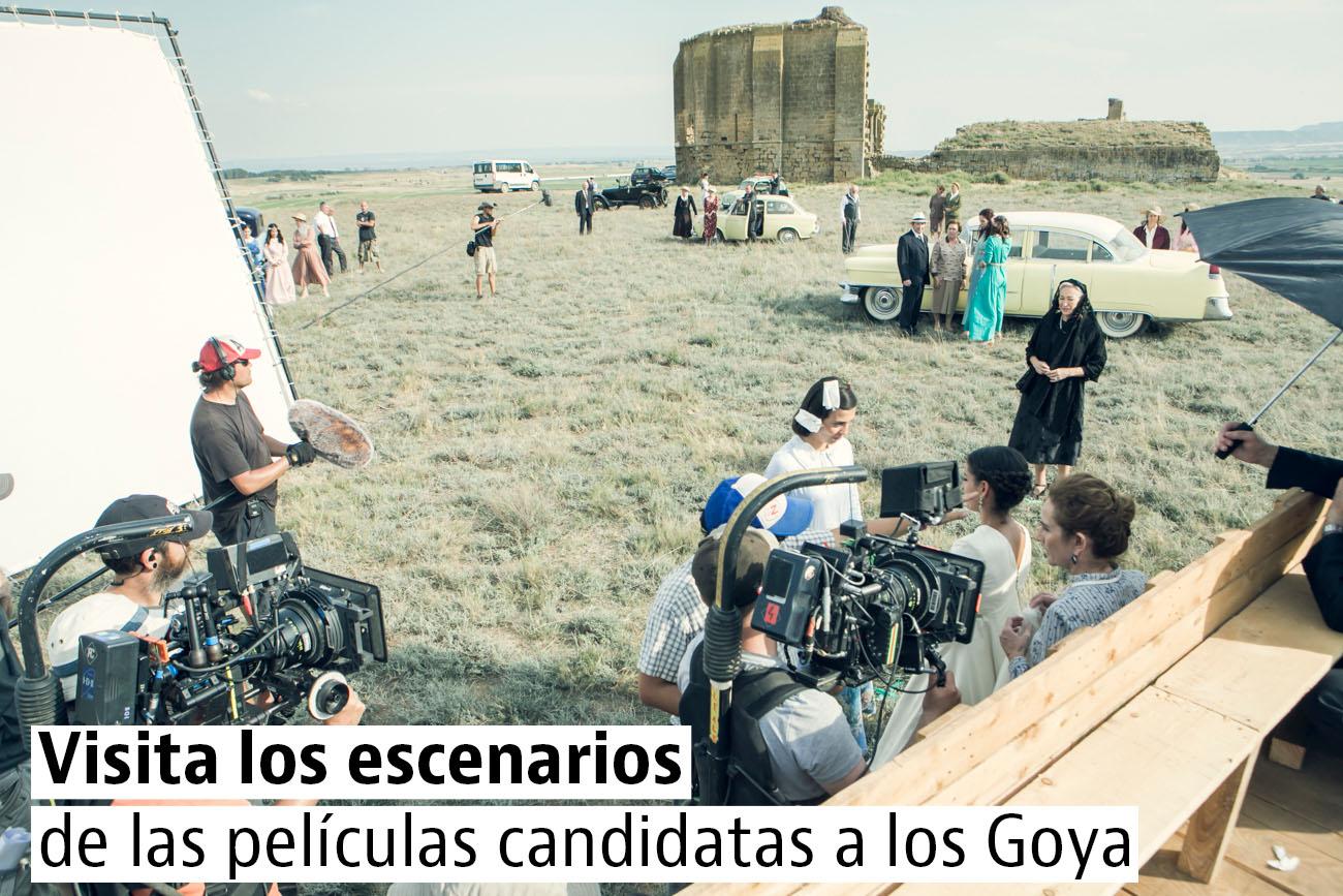Escenarios de cine en España