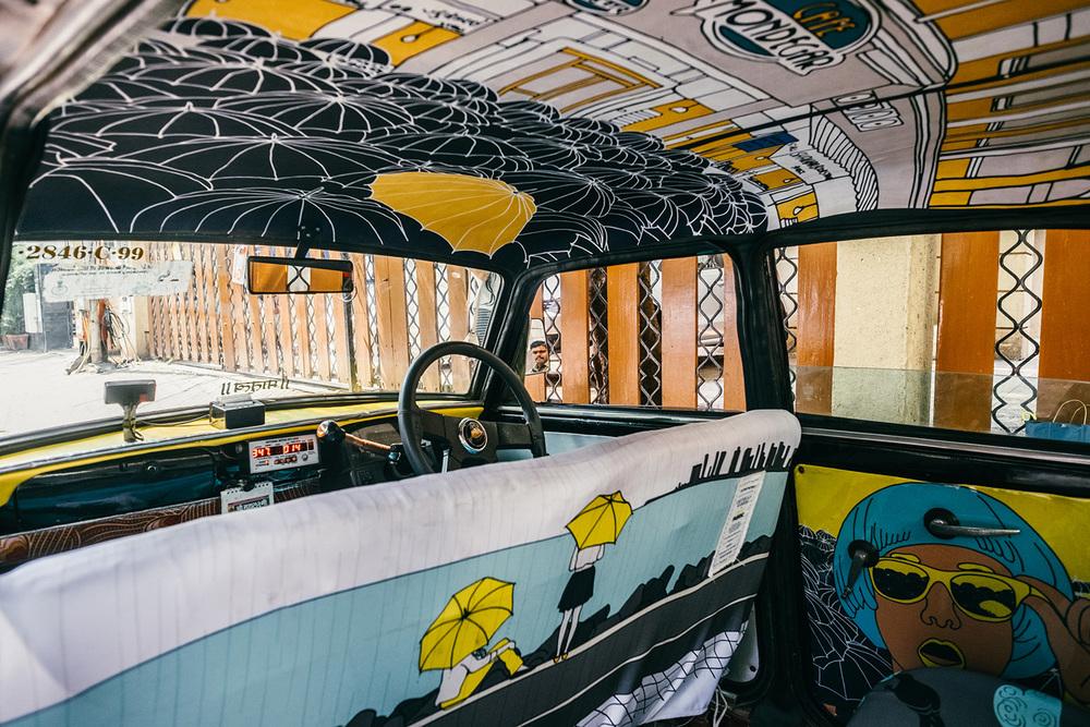 Decoración para interiores de coches