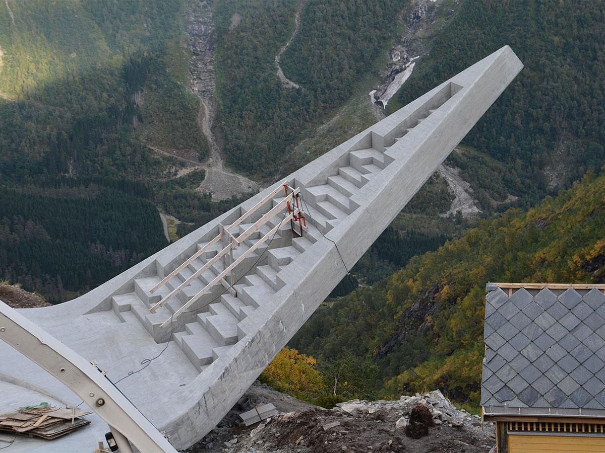 Uno de los puentes suspendidos más altos del mundo