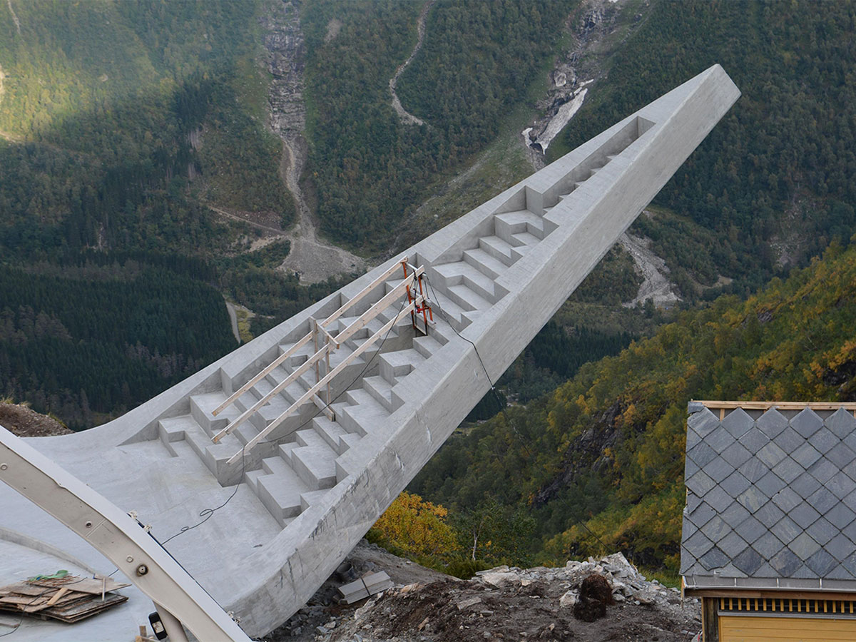 El mirador a 700 metros sobre el nivel del mar