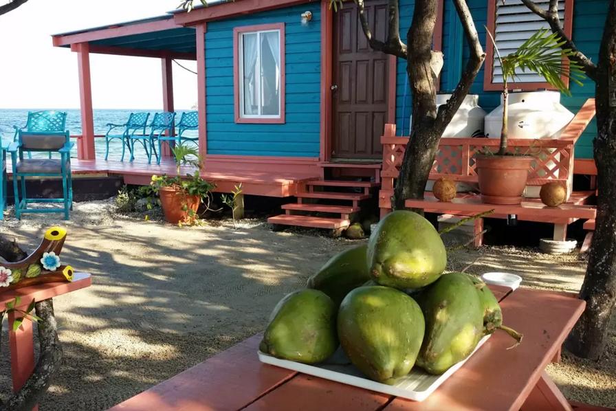 Casa en la isla de Caribe