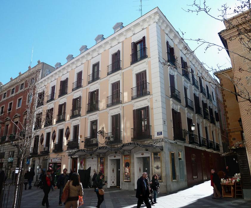 La discoteca Joy Eslava en Madrid
