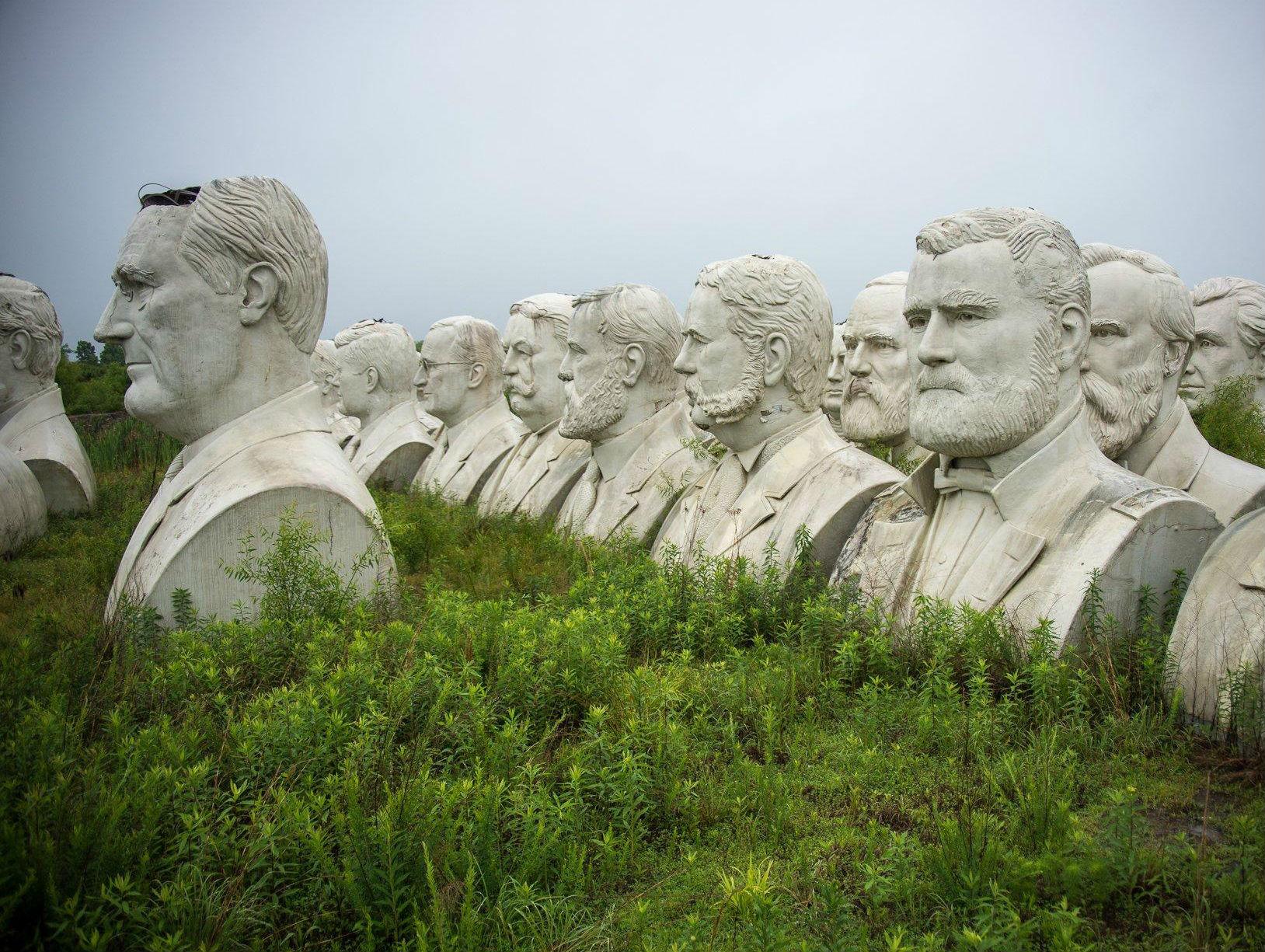 Bustos de Presidentes de Estados Unidos
