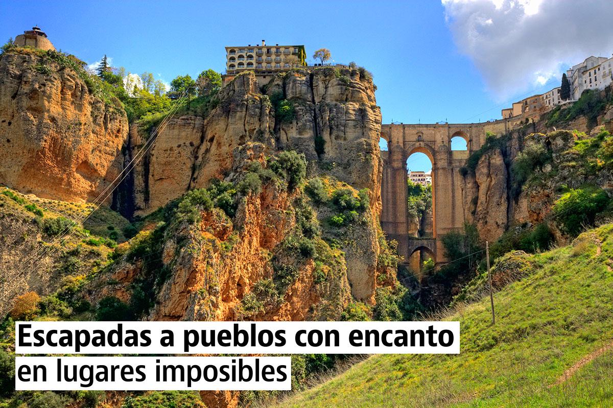Escapadas a pueblos con encanto en lugares imposibles - Lugares con encanto ...
