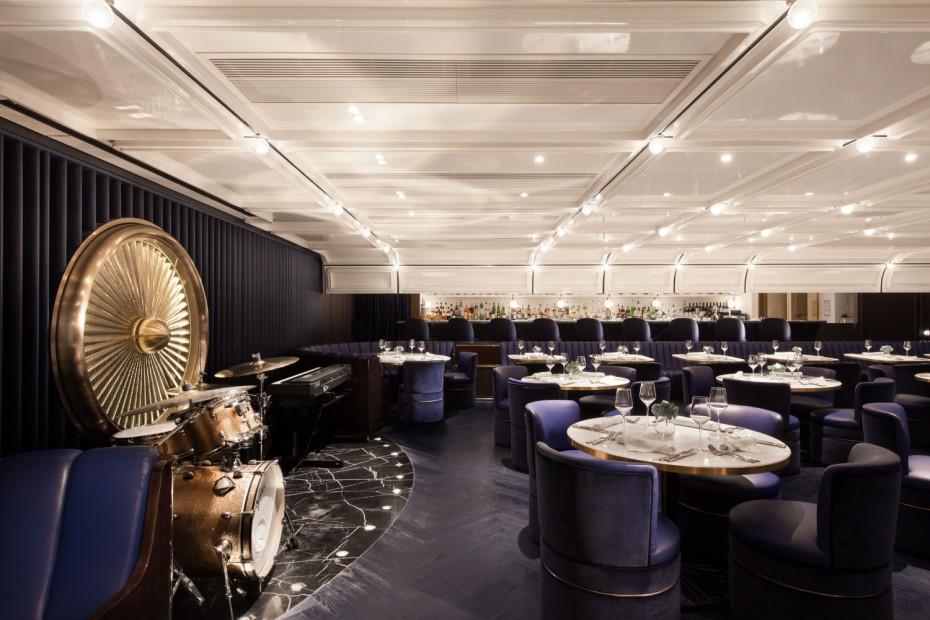 El restaurante de diseño retro-futurista