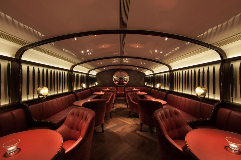 Salón del restaurante de diseño