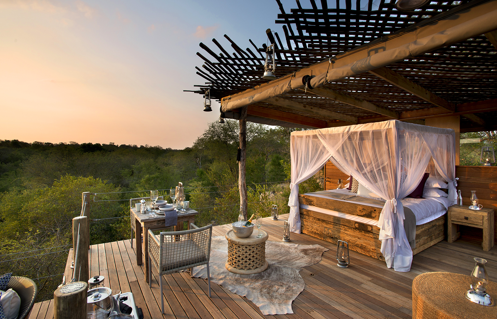 Hotel con encanto en África