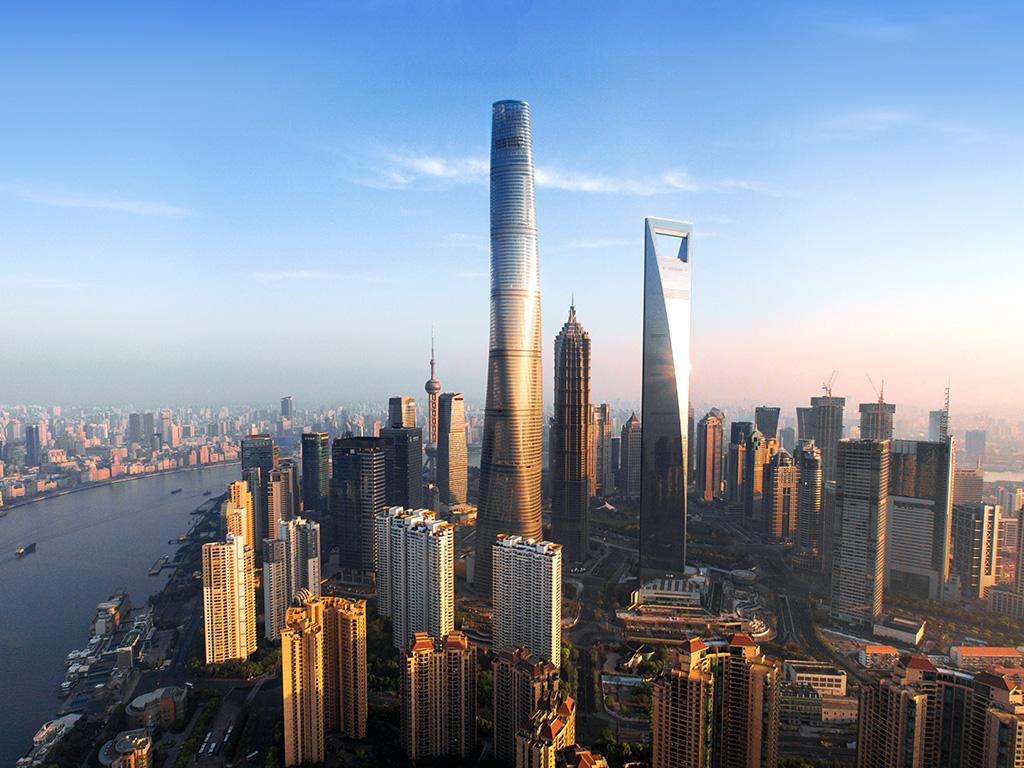Espectaculares rascacielos en Arabia Saudí