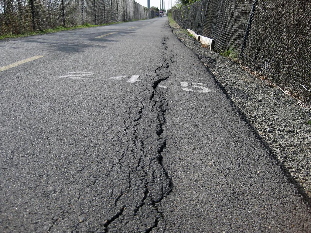 Desperfectos en carreteras