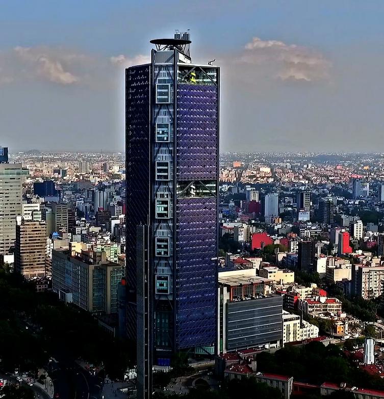 Torre BBVA en México