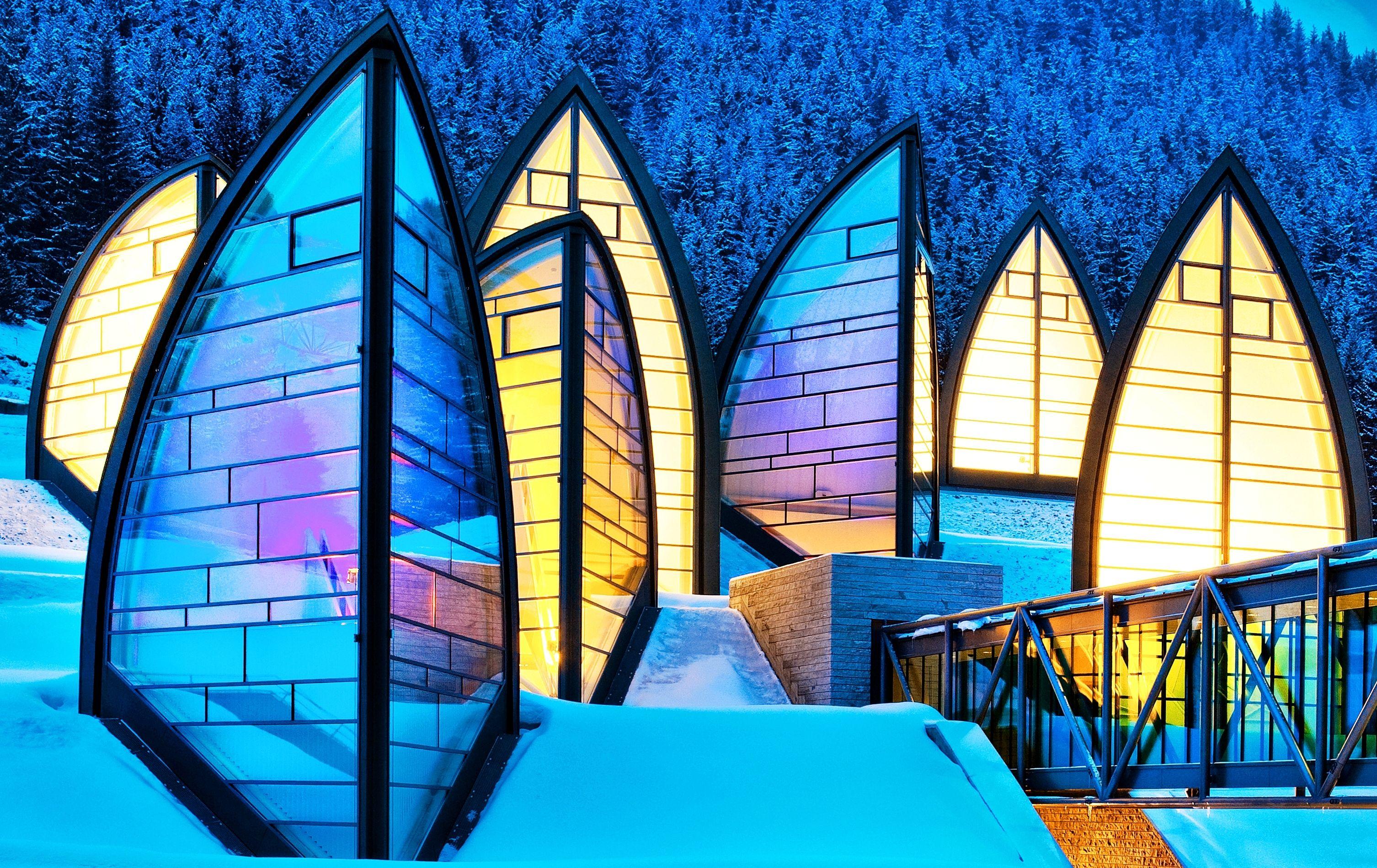 Colores de la fachada de un edificio