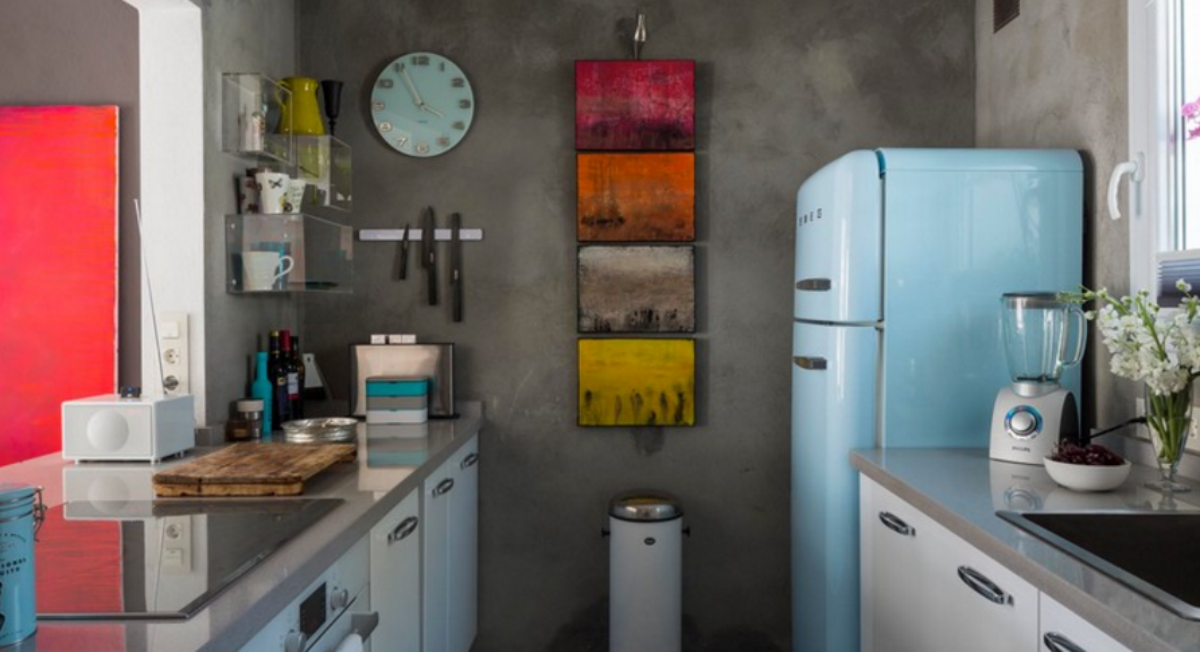 10 claves para hacer de tu cocina en un espacio m s for Cuarto 4x4 metros