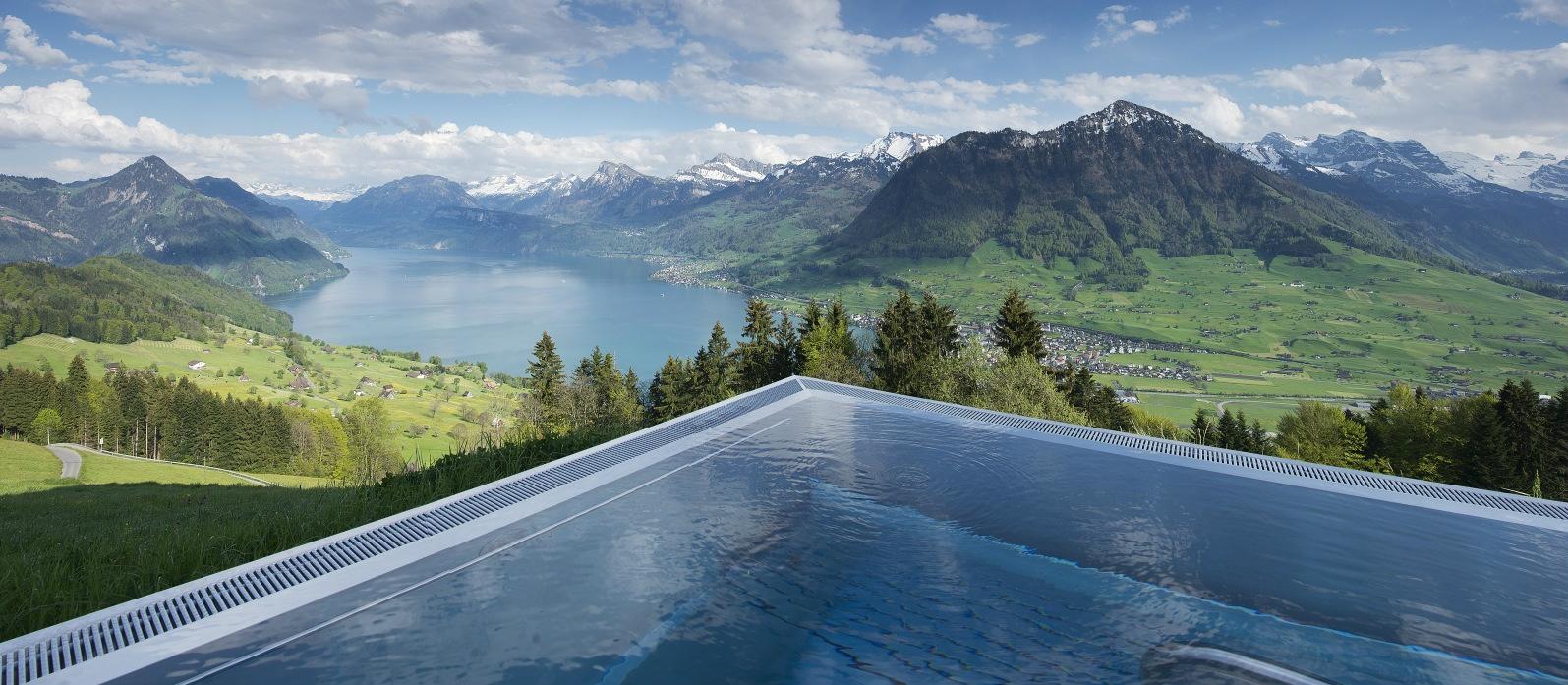 Hoteles con encanto la piscina con las mejores vistas del for Hoteles con encanto cerca de madrid con piscina