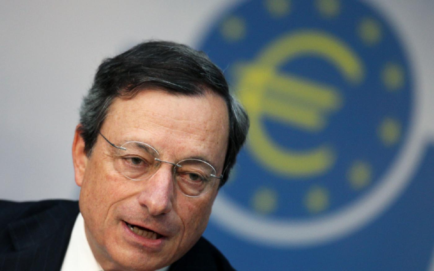 Mario Draghi, presidente de la Bce