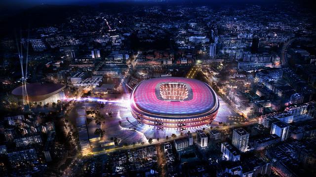 El nuevo estadio del Barcelona