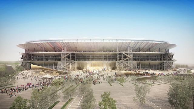 La remodelación del Camp Nou