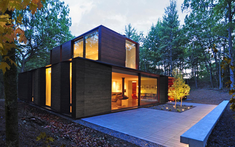 La vivienda ecológica en el bosque