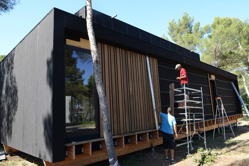 Construir una pequeña casa modular