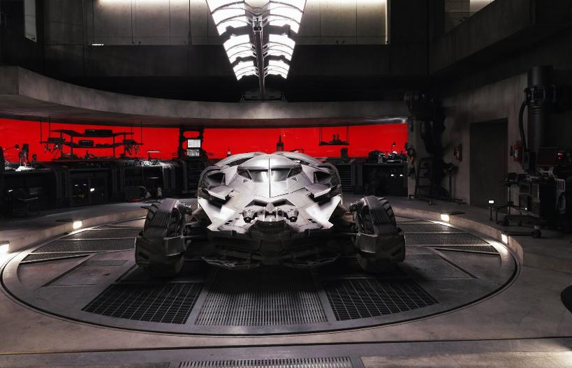 El Batmóvil de Batman