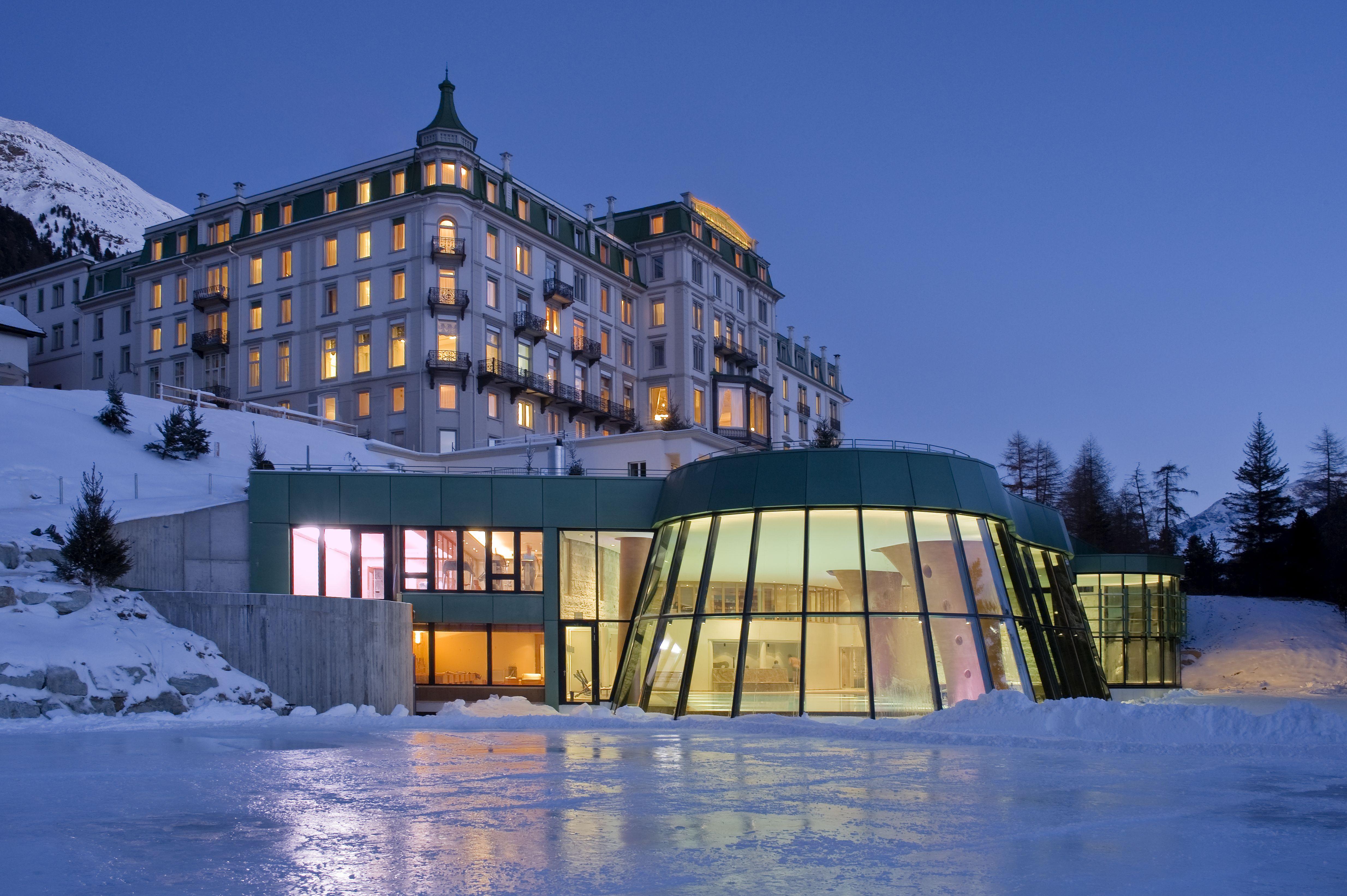 Hotel de lujo en los Alpes