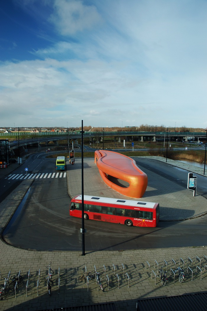 Parada del hospital Spaarne (Rotterdam, Holanda) NIO Architecten.
