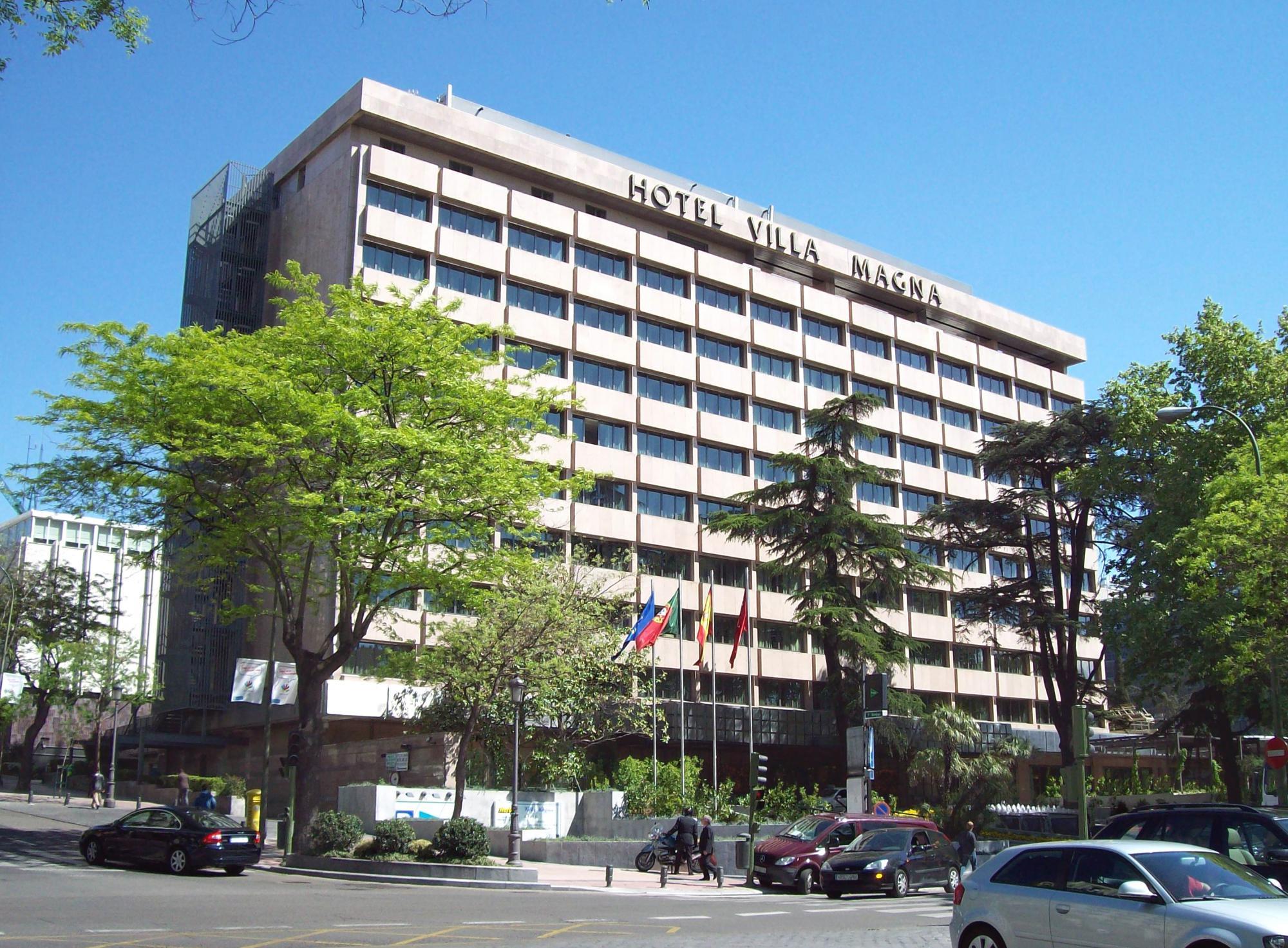 El hotel Villa Magna de Madrid