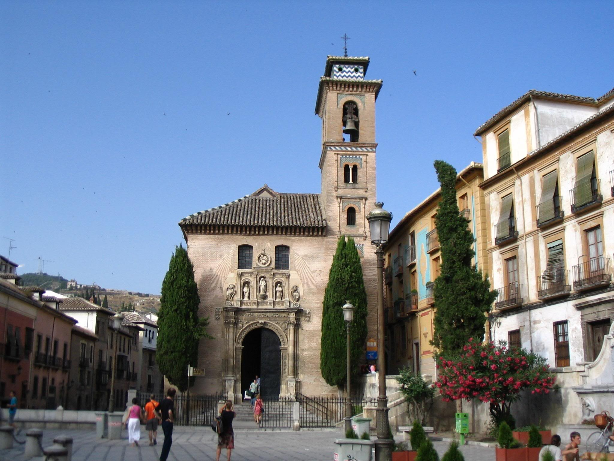 Iglesia de Santa Ana en Granada