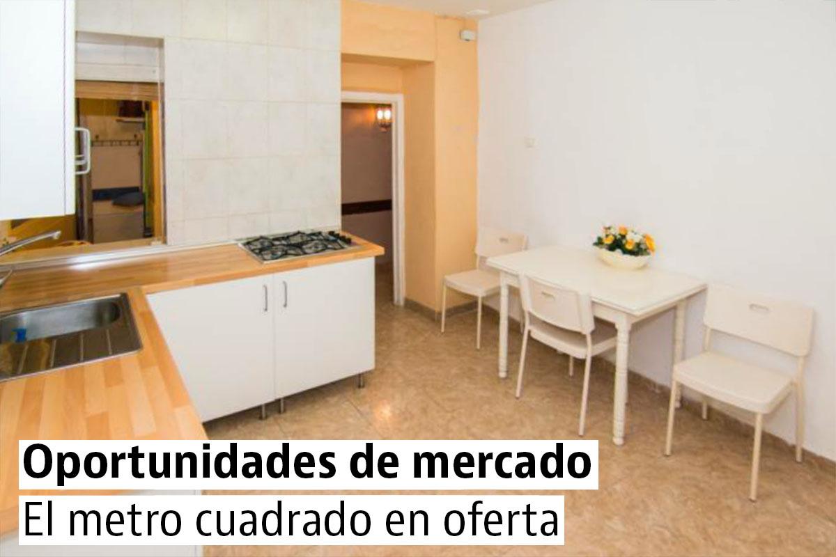 Las casas más baratas por metros cuadrados
